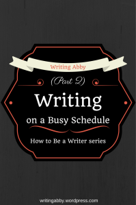 Do you find yourself staying up late at night to finish your daily word count? Then, this is the post for you. Find out some quick, cheap, and easy-to-implement ideas on how to save time, so you can actually write during the day. How to be a Writer: Writing on a Busy Schedule // Writing Abby