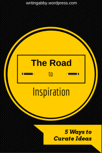 Having trouble collecting ideas to write about? Need some help on how to stay inspired? Check out this post on Writing Abby for some ideas on how to do just that. The Road to Inspiration: 5 Ways to Curate Ideas // Writing Abby