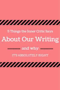 You've heard your Inner Critic bashing your writing from Day One. And you're probably sick of it. But, have you ever wondered if the Inner Critic was actually RIGHT, about some things? Chances are, it is. Check out this post on Writing Abby for some tips, tricks, and help for when the Inner Critic starts its trolling. 5 Things the Inner Critic Says About Our Writing and Why It's Absolutely Right // Writing Abby