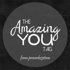 #amazingyou